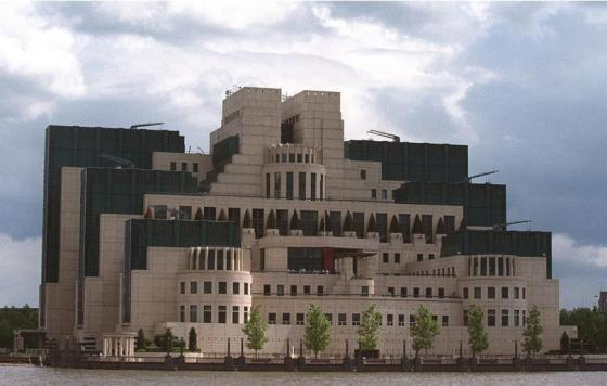 Britain's MI6 Headquarters