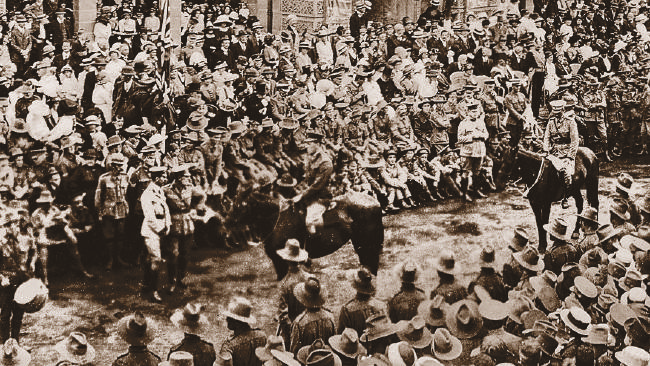 First ANZAC Day March in 1916