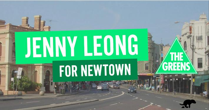 Jenny Leong for Newtown