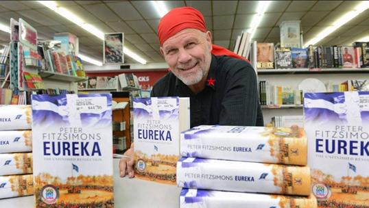 Peter Fitzsimons wants Eureka to be Aussie flag