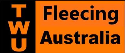 TWU Fleecing Australia