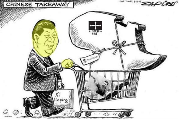 Chinese buying Australia