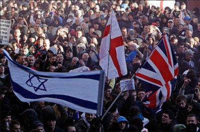 Zionists inside English Defence League