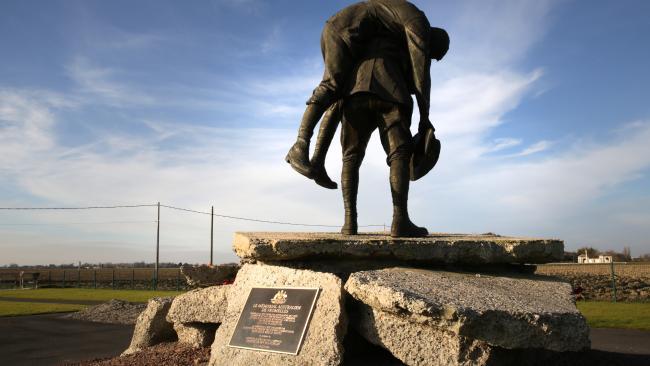 Australian War Memorial at Fromelles