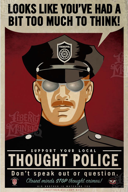 Liberal Party Thought Police
