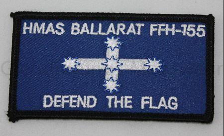 HMAS Ballarat ships patch