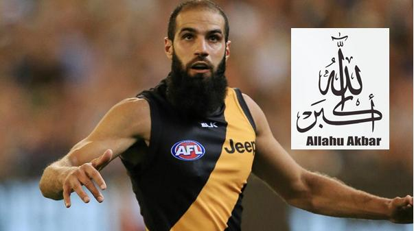 PM Turnbull backs Bachar Houli's islamic violence against an Aussie in sport