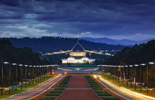 Canberra - Parliament House