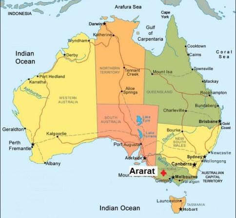 Australia. Ararat