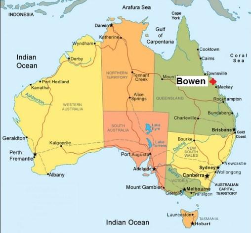 Australia. Bowen