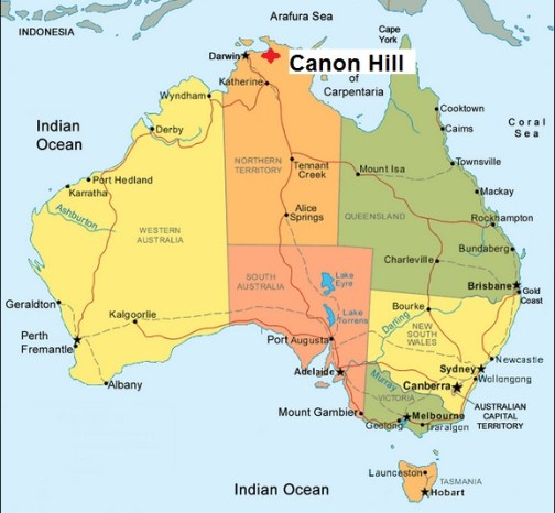 Australia. Canon Hill