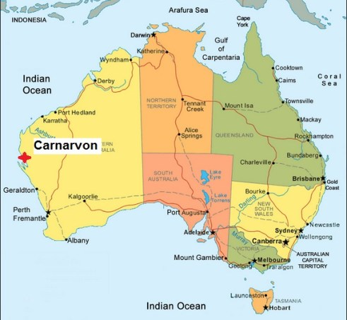 Australia. Carnarvon