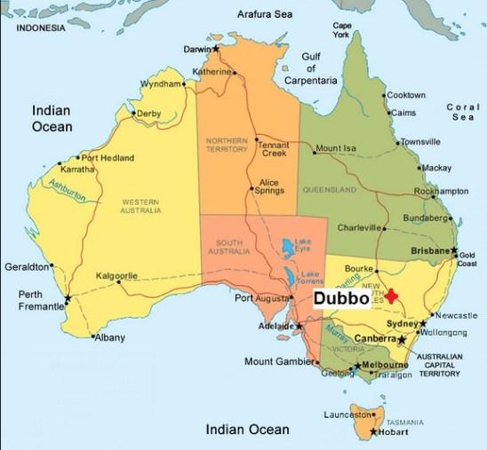Australia. Dubbo