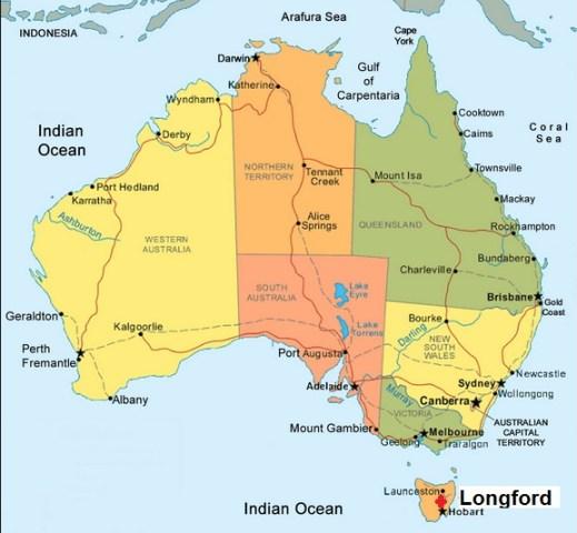Australia. Longford