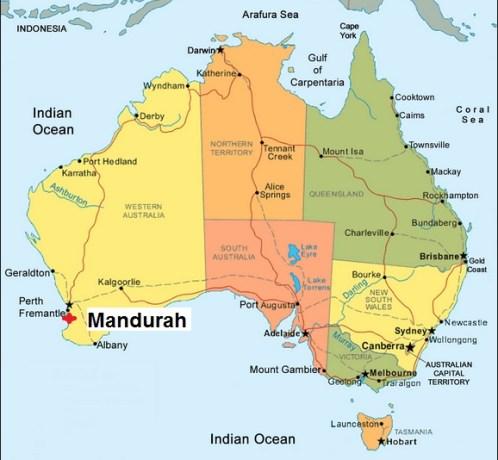 Australia. Mandurah