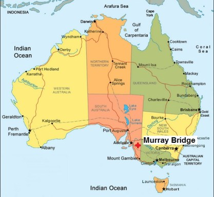 Australia. Murray Bridge16.06.13