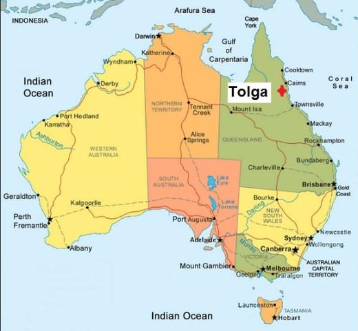 Australia. Tolga