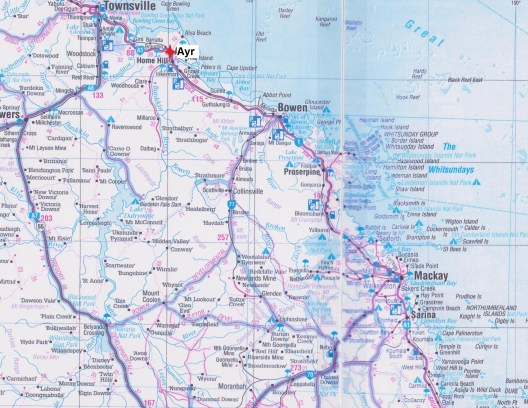 Map Ayr