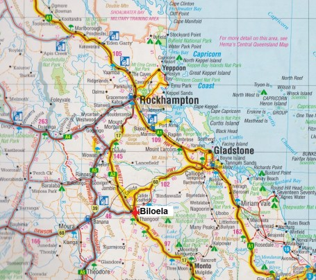 map Biloela