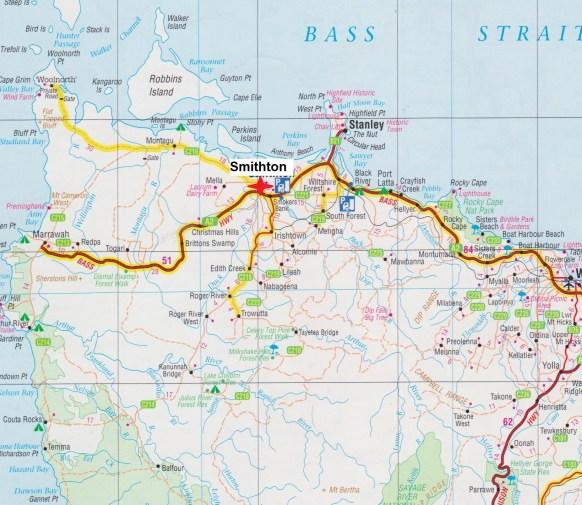 Map Smithton 001