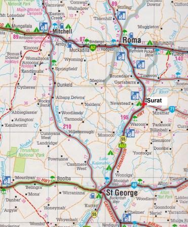 map Surat