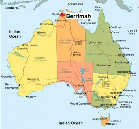 Australia. Berrimah