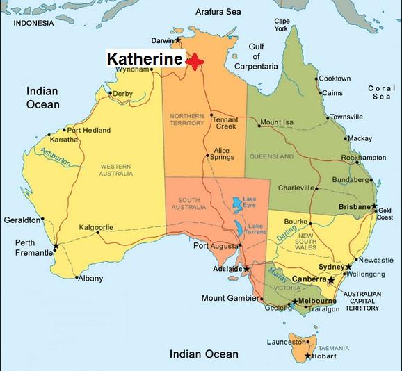 Australia Map Nt.Abattoirs In Nt Australian Abattoirs
