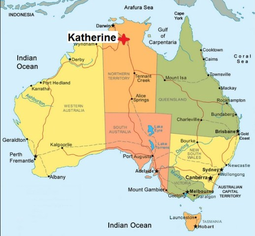 Australia. Katherine