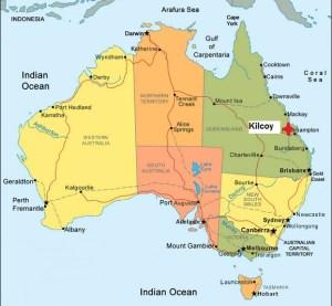 Australia. Kilcoy