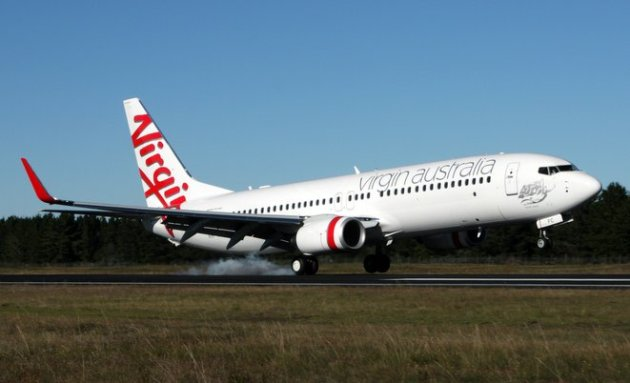 Virgin Australia said its financial performance improved in the first quarter of 2014/15. (Paul Robson)