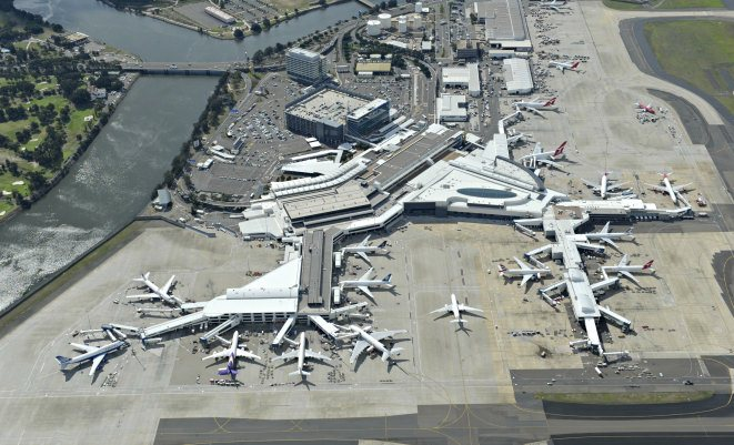 Sydney Airport averaged 84.4 per cent of flights being on-time in 2014, according to the OAG report.