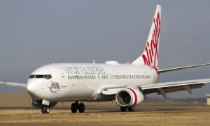 Virgin's code will appear appear on more domestic NZ flights. (Dave Parer)