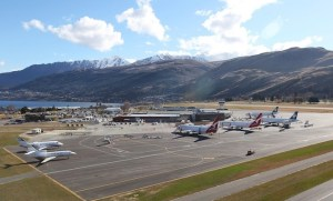 Queenstown has been given provisional approval by the NZ CAA to start night operations. (Michael Thomas)