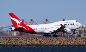 Qantas 747 heavy maintenance will head offshore once its Avalon facility closes in March. (Andrew McLaughlin)