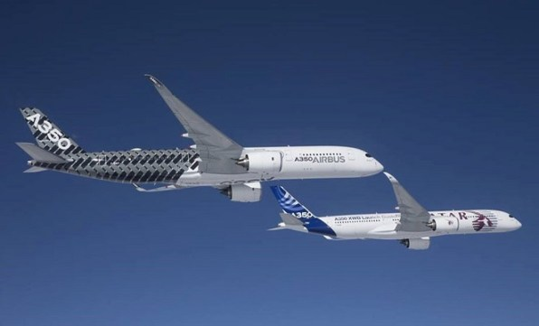 Airbus early long flights are designed to test the aircraft's passenger and cabin crew amenities and systems. (Airbus)