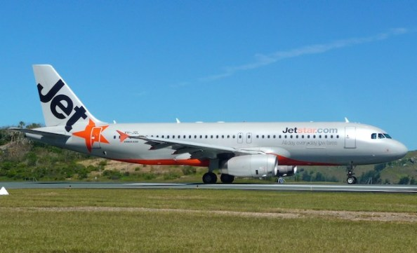 File image of a Jetstar A320 at Hamilton Island. (Dave Parer)