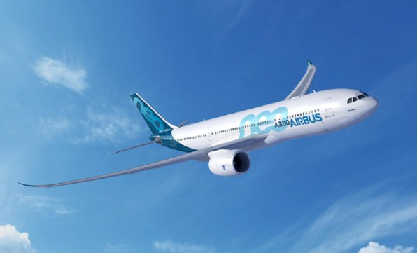 The shorter fuselage A330-800neo. (Airbus)