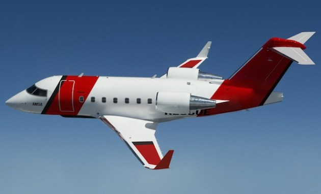 Cobham will operate three Challenger 604s for the AMSA SAR contract.