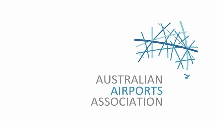 Australian Airports Association logo. (AAA)