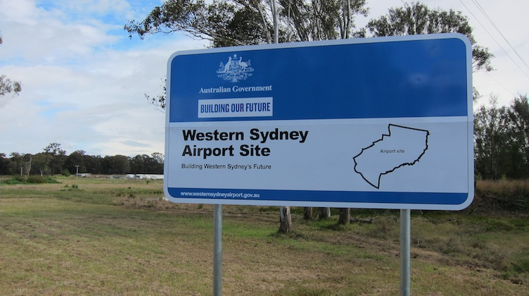 "The federal government has officially ""declared"" Badgerys Creek as the site for a second airport in Sydney. (Jordan Chong)"