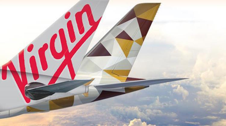 Etihad has an alliance with Virgin Australia.