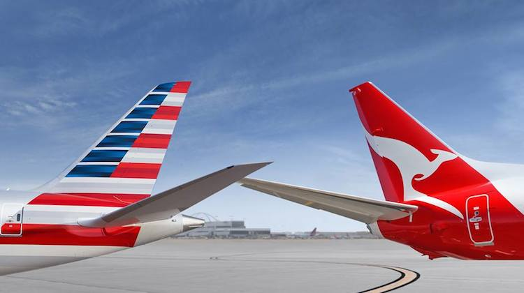American Airlines and Qantas have expanded their trans-Pacific alliance. (American)