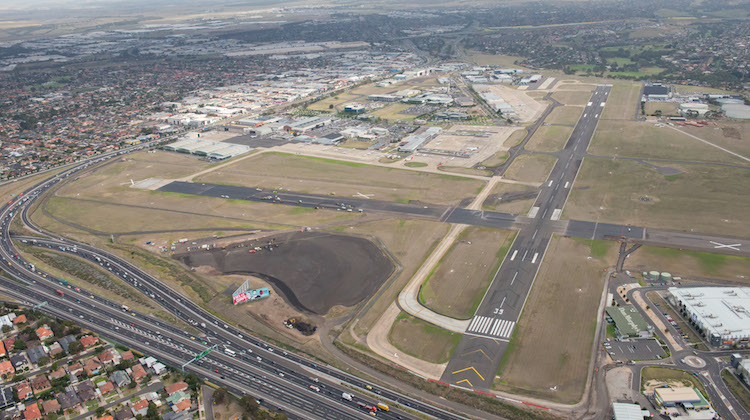 An aerial view of Essendon Airport. (Essendon Airport)