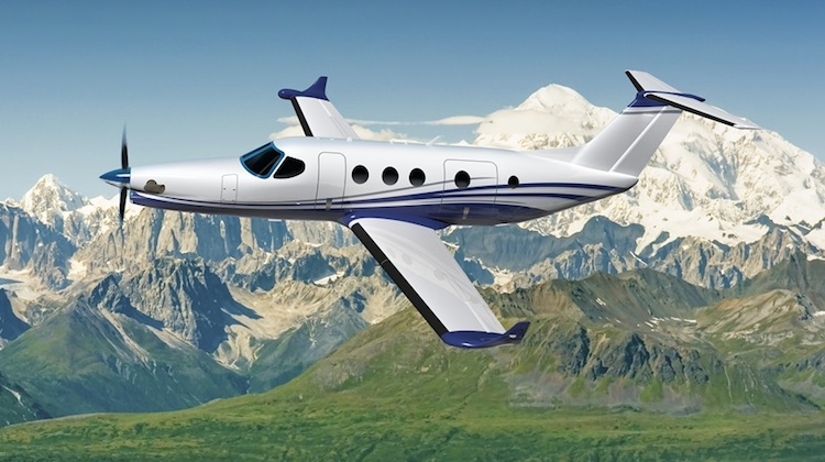An artist's impression of the Cessna Denali. (Textron)