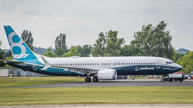 A file image of a Boeing 737 MAX 8. (Boeing/Twitter)