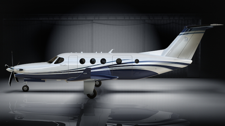 A supplied illustration of the Cessna Denali. (Textron)