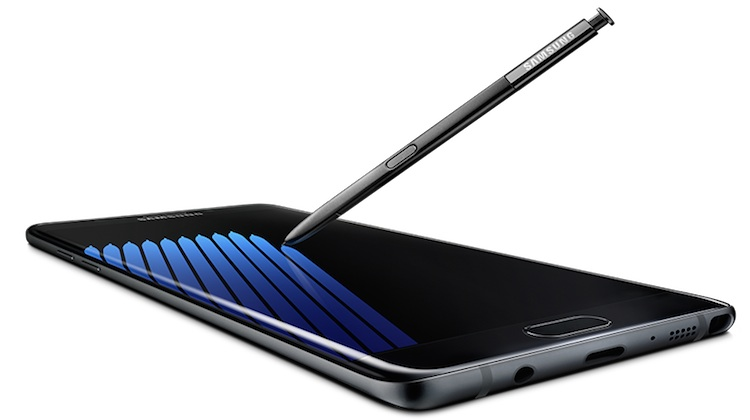 The Samsung Galaxy Note 7. (Samsung)
