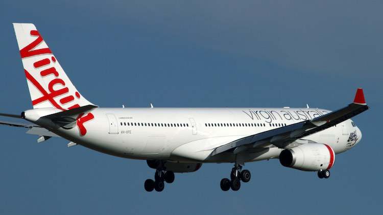 Virgin Australia flies Airbus A330-200s to Hong Kong. (Rob Finlayson)
