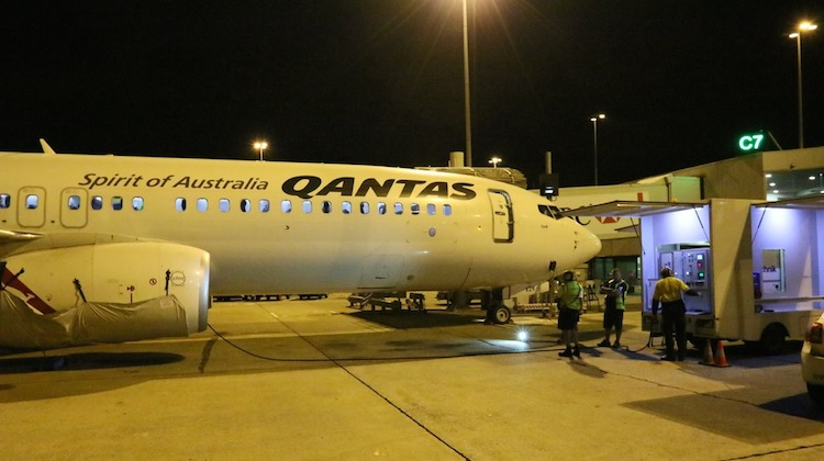 Qantas is using Cyclean on its Boeing 737-800s in Melbourne. (Permagard)