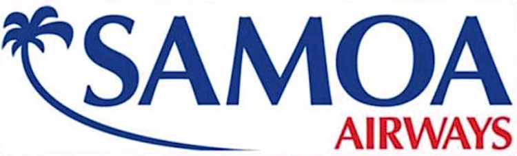 A logo of the new Samoa Airways.